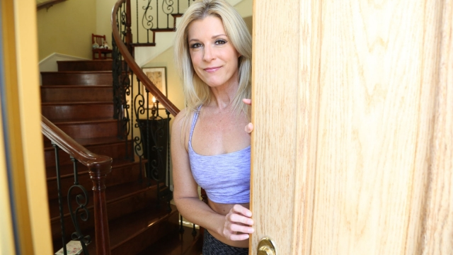 Welcomed home by Horny Stepmom