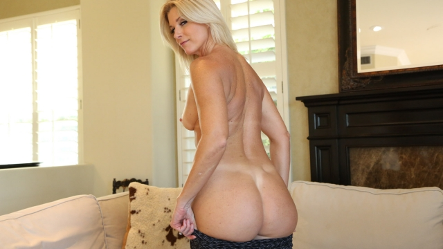 horny stepmom showing her nice ass
